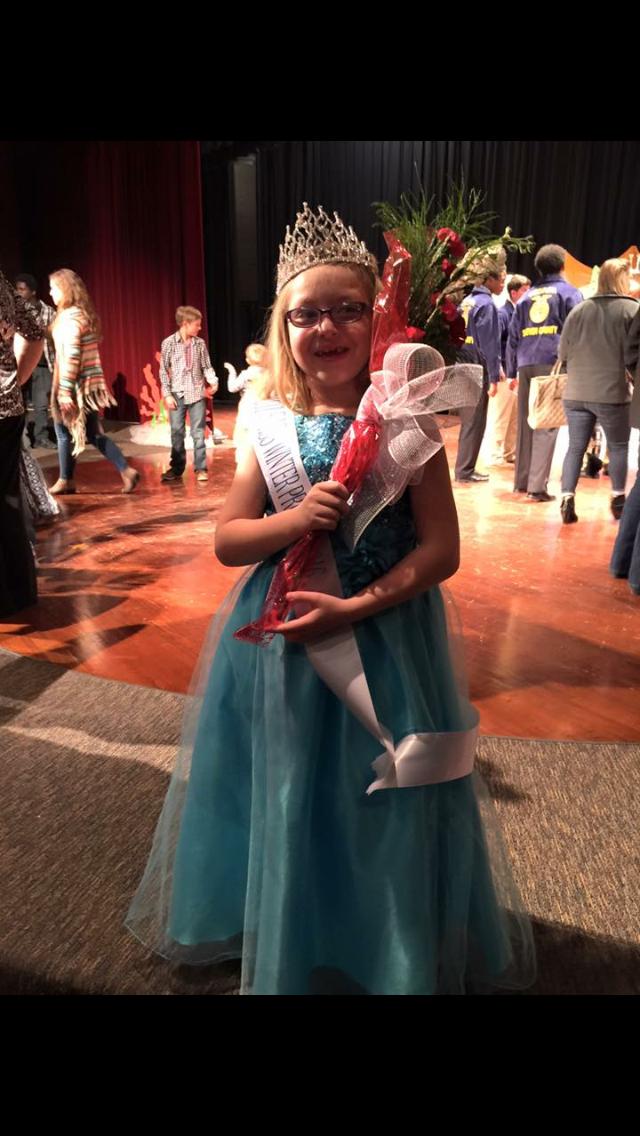 Congratulations Miss Ella!