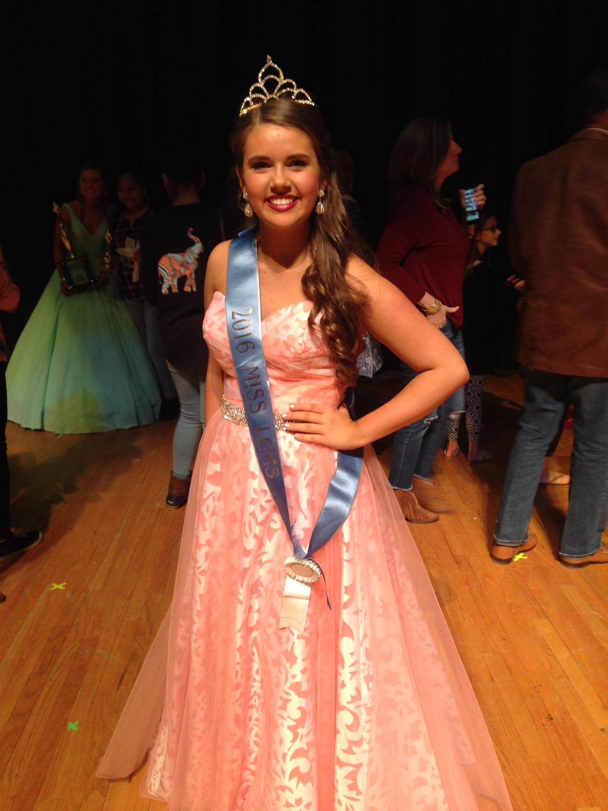 Congratulations Olivia Olsen!