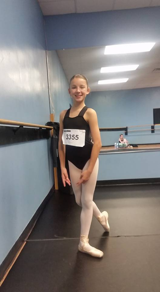 Statesboro School of Dance Student Attends Joffrey Ballet at UGA