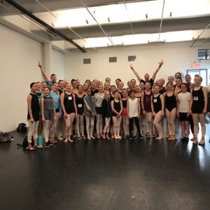 SSOD Students Attend Joffrey Summer Intensives