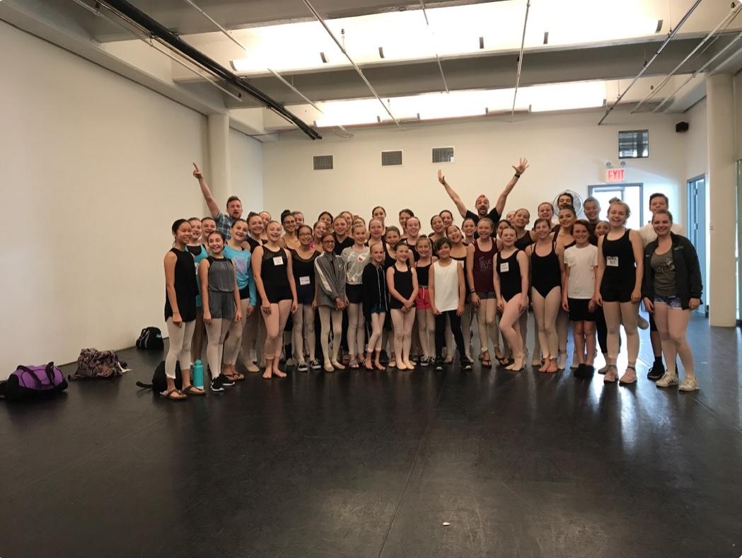 SSOD Students Attend Joffrey Summer Intensives