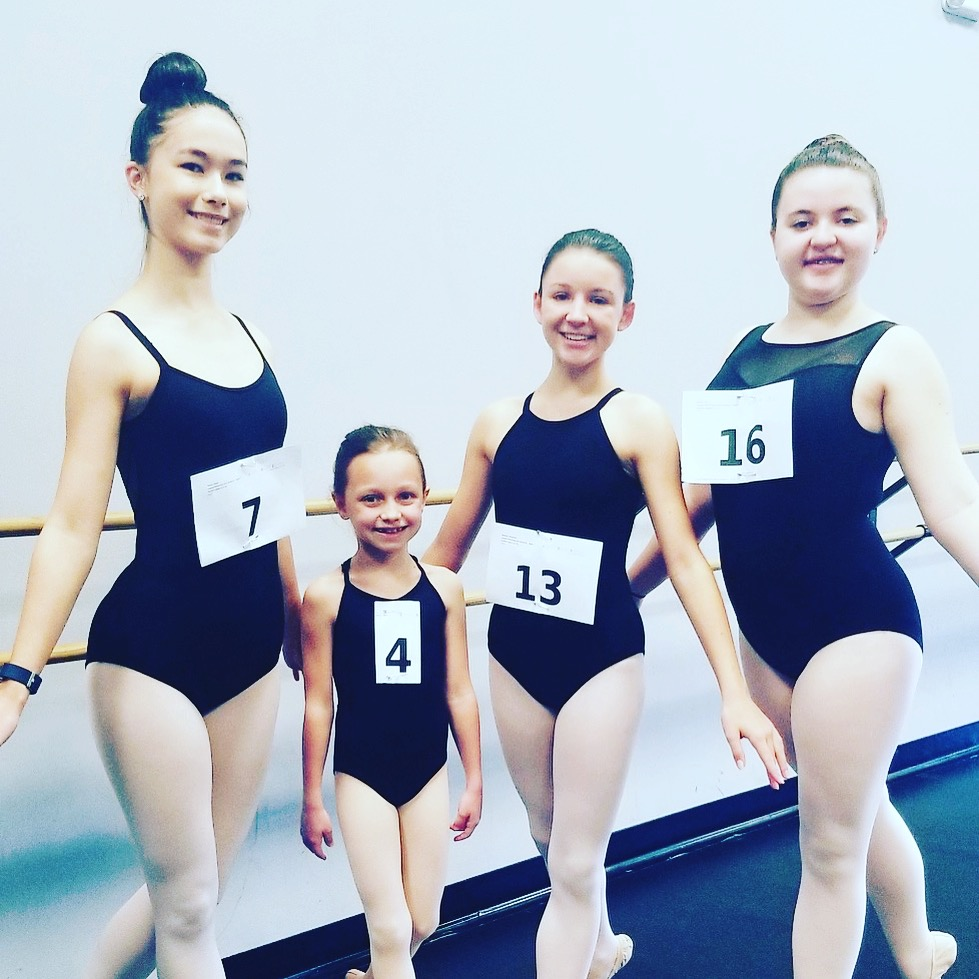 SSOD Students Audition for Joffrey Summer Dance
