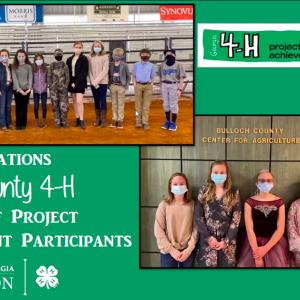 SSOD Students Participate in 4H Project Achievement