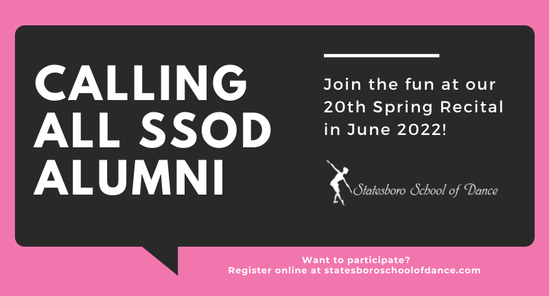 Calling all SSOD Alumni!